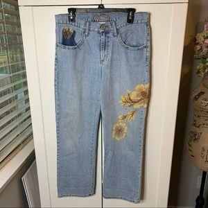 Z. Cavaricci Authentic Vintage Embellished Jeans